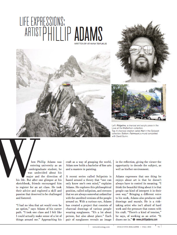 Phillip Adams Dolce Magazine
