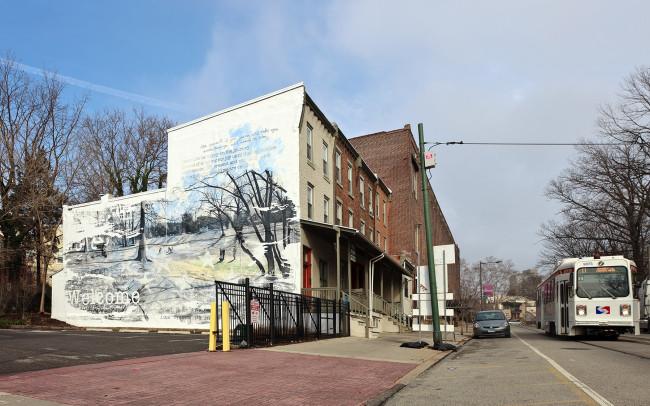 Phillip Adams Veterans Mural