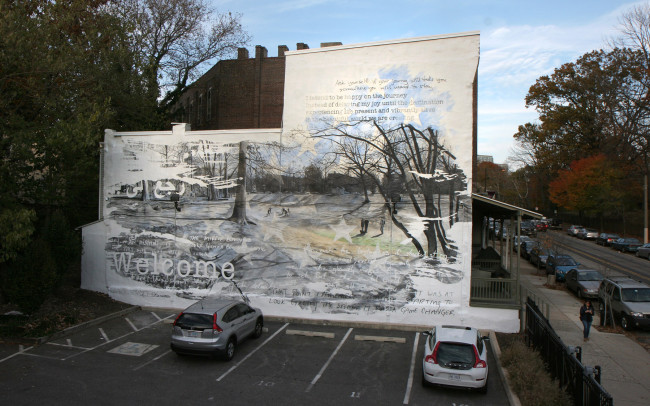 Phillip Adams Veterans Mural