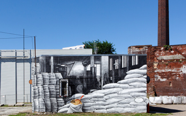Phillip Adams Philadelphia Industrial Distillery Mural