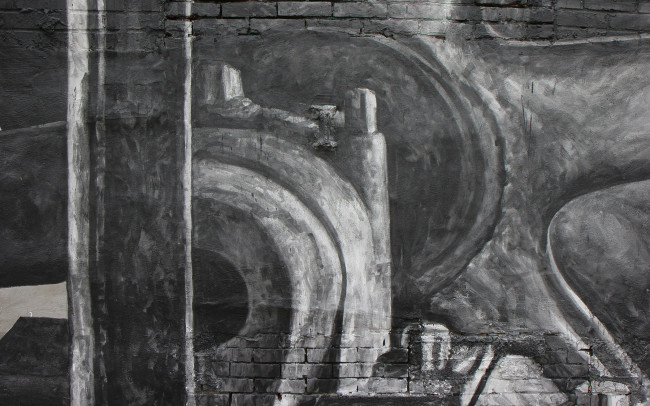 Phillip Adams Philadelphia Industrial Brewery Mural