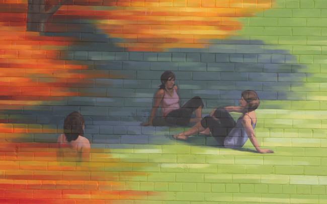 Phillip Adams Montréal Fall Mural