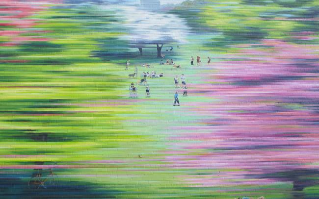 Phillip Adams Montréal Spring Mural
