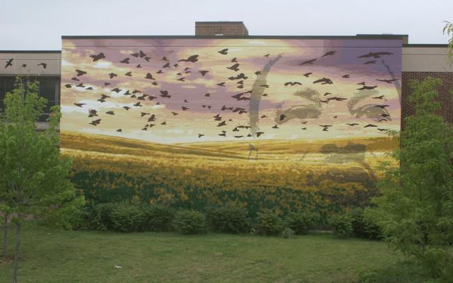 Phillip Adams Dreams MLK Mural
