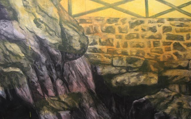 Phillip Adams Philadelphia Fairmount Mural