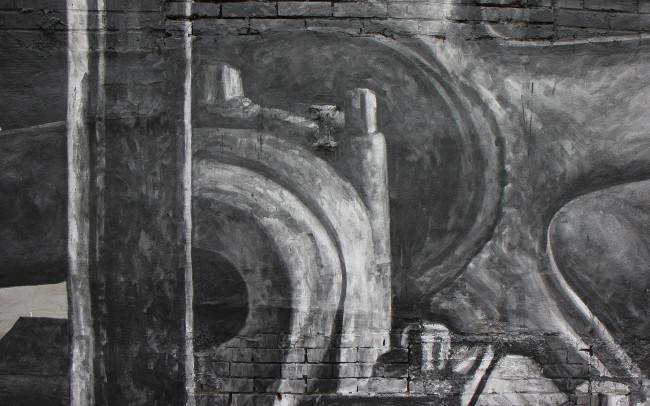 Phillip Adams Philadelphia Industrial Brewery Mural