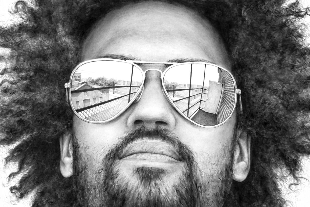 Phillip Adams Solipsist Portrait Keir