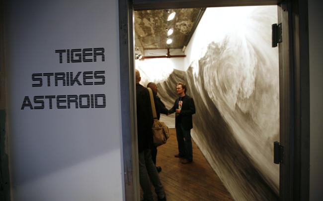 Phillip Adams Spring Break installation at Tiger Strikes Astroid