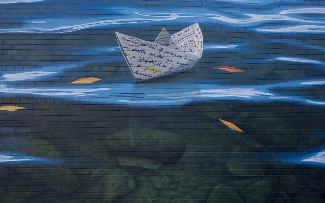 Phillip Adams Elements Water Mural